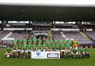 Claregalway v Williamstown Intermediate Football Championship final at the Pearse Stadium.<br /> Claregalway.