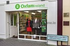 The Oxfam Shop at Lower Abbeygate Street.