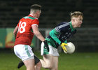 Oughterard v The Neale Connacht Intermediate Football Final at MacHale Park, Castlebar.<br /> Ciaran Hanley, Oughterard, and Oisin Connolly, The Neale
