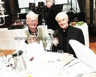 Dr Don Colbert and Rev Terence McLoughlin,  OP at the Claddagh Senior Citizens dinner in the Galway Bay Hotel.