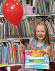 Ellie McNeill, Ballybane, at the presentation of certificates of Achievement to children who participated in the Summer Stars Library Reading Adventure at Ballybane Library.