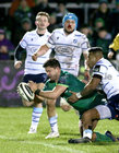 Connacht v Cardiff Blues Guinness PRO14 game at the Sportsground.<br /> Connacht's and Cardiff