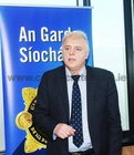 <br /> Inspector Michael Coppinger, speaking <br /> At the launch of the Galway Divisional Protection Service Unit. at the Garda Station Dublin Road.