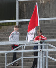 Young Clifden supporters at the Junior County Football final against St Brendan's at Pearse Stadium last weekend.<br />