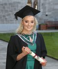 Louise Comer from Newcastle who was conferred with the degree of Bachelor of Nursing at NUI Galway.