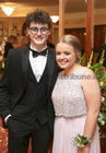Conor O'Sullivan, Kingston, and Sarah Keane, Salthill, at Salerno Secondary School Debs Ball in the Ardilaun Hotel.