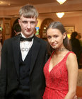 Stephen Kerr, Newcastle, and Aoife Lydon, Moycullen, at Salerno Secondary School Debs Ball in the Ardilaun Hotel.