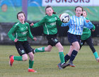 Salthill Devon B v Colemanstown United Under 12 Girls Division 1 Cup final at Eamonn Deacy Park.