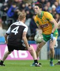 Corofin v Kilcoo AIB GAA Football All-Ireland Senior Club Championship final at Croke Park.<br /> Corofin's Mike Farragher and Kilcoo's Niall McEvoy