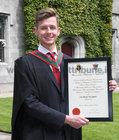 Cian McLoughlin from Oranmore who was conferred with the degrees of Honours Bachelor of Medicine, Bachelor of Surgery and Bachelor of Obstetrics (MB BCh BAO) at NUI Galway.