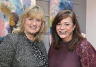 Niamh McCarthy and Annette Nugent at the reception marking the Silver Jubilee of the 16th Renmore Pantomime 'Sleeping Beauty' which was was specially remembered at this year's Renmore Pantomime 'Aladdin' in the Town Hall Theatre last Saturday evening.