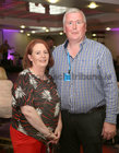 Mary Larkin and Donal Lynch from Ballybane at Merlin Park Hospital Tea Dance at the Clayton Hotel.