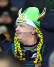 A Corofin supporter during the AIB GAA Football All-Ireland Senior Club Championship final at Croke Park.<br />