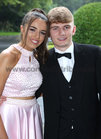 Siofra Collins and Evan Kelly, both from Moycullen, at Salerno Secondary School Debs Ball in the Ardilaun Hotel.