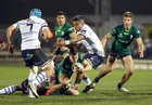 Connacht v Cardiff Blues Guinness PRO14 game at the Sportsground.<br /> Connacht's Jack Carty