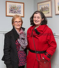 "Mary Ryan, Newcastle, and Mary Hernon, Renmore, both members of the Irish Kidney Association, at the opening of ""Buíochas-Gratitude"", Angeline Cooke's new exhibition of paintings, dedicated to all organ donors. The exhibition, inspired by the Circle of Life National Organ Donor Commemorative Garden in Salthill, is on display in Renzo Café, Eyre Street, until 12th January 2020. Proceeds from the sale of paintings will go to Strange Boat Donor Foundation. <br />"