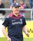 Galway v Carlow Leinster Senior Hurling Championship Round 1 game at the Pearse Stadium.<br /> Galway Manager Micheal Donoghue before the start of the game