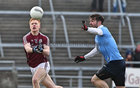Galway v Dublin Allianz Football League Division 1 game at the Pearse Stadium.<br /> Galway's Adrian Varley