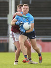 Galway v Dublin Allianz Football League Division 1 Round 7 game at Pearse Stadium.<br /> Galway's James Foleyand Dublin's Paddy Small