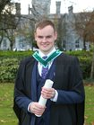 Jonathan Fearon, Oranmore, who was conferred with a B.Sc. Honours Degree (Environmental Science) at NUI Galway.