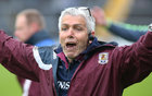 Galway v Roscommon Minor Football semi-final at the Pearse Stadium.<br /> Galway manager Stephen Joyce