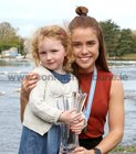 Katie O'Brien pictured with Muireann Elwood at the reception in Galway Rowing Club.