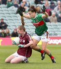 Galway v Mayo 2019 TG4 Connacht Ladies Senior Football Final replay at the LIT Gaelic Grounds, Limerick.<br /> Louise Ward, Galway, Kathryn Sullivan, Mayo