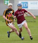 Galway v Kilkenny Under 20 Leinster Championship Hurling semi-final in Bord na Mona O'Connor Park, Tullamore.<br /> Galway's Shane Ryan and Kilkenny's Michael Garvey