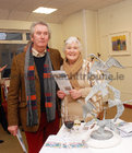 <br /> Tom and Christina Ryan, Kinvara, , at the opening of the Joseph Quikty Experimental Burren art Exhibition at the Kenny Art Gallery, Liosban Industrial Estate, Tuam Road.