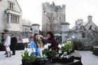 <br /> A view of the Claregalway Castle Spring,  Garden, Food and Craft Fair on Sunday.