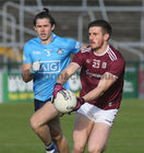 Galway v Dublin Allianz Football League Division 1 Round 7 game at Pearse Stadium.<br /> Galway's Shane Walsh and Dublin's David Byrne