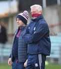 Galway v Tipperary All-Ireland Senior Championship Quarter-Final at the LIT Gaelic Grounds, Limerick.<br /> David Forde (left) and Galway manager Shane O'Neill