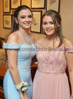 Kyna Lydon, Bushypark, and Niamh Howley, Moycullen, at Salerno Secondary School Debs Ball in the Ardilaun Hotel.