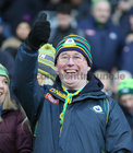 A Corofin supporter at the AIB GAA Football All-Ireland Senior Club Championship final at Croke Park.<br />