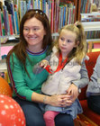 Ruth Keady with her mother Liadhan, Roscam, at the presentation of certificates of Achievement to children who participated in the Summer Stars Library Reading Adventure at Ballybane Library.
