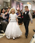Clara Geraghty Gael Scoil de hIde, Cathal Kelly Maree National School taking part in Anthony Ryans Annual Communion Wear Fashion Show.