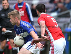 Tuam Stars v Killannin Senior Football Championship game at the Pearse Stadium.<br /> Killannin's Ruairi Greene