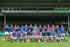 Galway v Limerick Allianz Hurling League semi-final in Limerick.<br /> The Galway panel. Back row, left to right: Jason Flynn, Niall Burke, Cathal mannion, Conor Whelan, Martin Dolphin, Matt Donohoe, Joseph Cooney, Gearoid McInerney, John Hanbury, Daithi Burke, Conor Cooney, Joe Canning, Johnny Coen and Sean Loftus. front row, left to right: Ronan Burke, Thomas Monaghan, Eanna Burke, Padraig Brehony, Padraic Mannion, Aiden Harte, David Burke, captain, Adrian Tuohy, Shane Moloney and Paul Killeen.