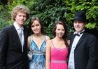 At the Colaiste Colm Cille Debs Ball in the Westwood House Hotel, were; Colm Ashford, Tracy Conneely, Doirin Davy and Eoin O Cual‡in,
