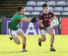 Galway v Mayo 2020 Connacht Senior Football Final at Pearse Stadium. <br /> Galway's and Mayo's