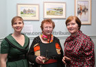 "Cllr Pauline O'Reilly, Mary O'Rourke, Seamus Quirke Road, and Bernie Coyne of the Galway Branch of the Irish Kidney Association, at the opening of ""Buíochas-Gratitude"", Angeline Cooke's new exhibition of paintings, dedicated to all organ donors and inspired by the Circle of Life National Organ Donor Commemorative Garden in Salthill and, at Renzo Café, Eyre Street. Proceeds from the sale of paintings will go to Strange Boat Donor Foundation. <br />"