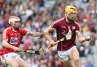 Galway v Cork All-Ireland Minor Hurling Championship final at Croke Park.<br /> Galway's Sean Bleahene
