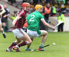 Galway v Limerick Allianz Hurling League semi-final in Limerick.<br /> Galway's Conor Whelan and Limerick's Richie English
