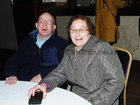 Brendan Mitchell, with his sister Mai,  at the Parkinsons Association  St. Patricks Night Ceili in the Clayton Hotel.