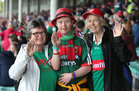 Galway v Mayo 2019 TG4 Connacht Ladies Senior Football Final replay at the LIT Gaelic Grounds, Limerick.<br /> Mayo supporters at the game