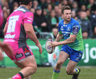 Connacht vs Gloucester European Rugby Challenge Cup qurter final at the Sportsground.<br /> Connacht's Jack Carty