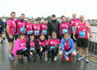 Some of Team Rosabel who took on Run Galway Bay last Saturday to raise funds and awareness for Rosabel's Rooms. Rosabel's Rooms was set up by Suzanne McClean and Gary Monroe, in partnership with the Irish Hospice Foundation providing comfort and support through child loss, in memory of their beloved daughter Rosabel who died suddenly in 2017 when she was 17 months old. Pictured are, back row, left to right: Mike O'Donohue, Paul Reidy, Gillian Keena, Valerie Madden, Leona Gibney, Gary Monroe, Deirde O'Malley, Sean Kelly and Shane Lennon. Front row: Karen Reidy, Joy Coss, Tracey Dooley, Amina Ouzbara and Micheál Ó'Dubháin.