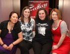 Joanne Kelly (Wendy Jo), Helen O'Donoghue (Rusty), and committee members Karen Gale and Teresa Kennedy at a reception at the Lough Rea Hotel where detials of St. Brendan's Choral & Dramatic Society's production of the musical Footloose were announced. The show will run at the Temperance Hall Loughrea from November 27 to December 3.
