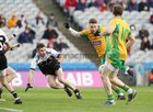 Corofin v Kilcoo AIB GAA Football All-Ireland Senior Club Championship final at Croke Park.<br /> Corofin's Micheál Lundy and Kilcoo's Darryl Branagan