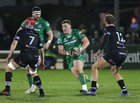 Connacht v Ospreys Guinness Pro14 game at the Sportsground.<br /> Connacht's Denis Coulson